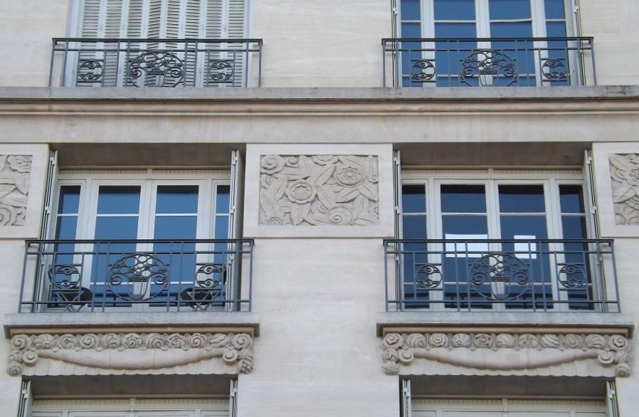 fenêtre rue de rome