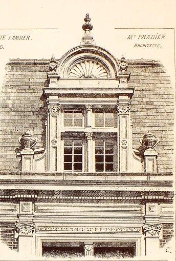 dessin immeuble