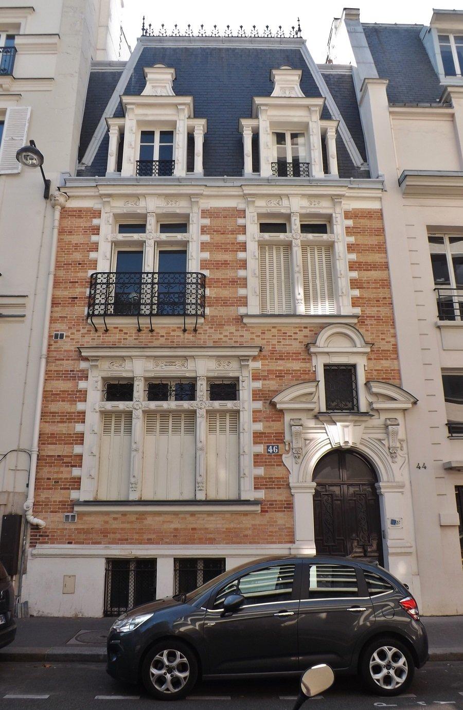 rue fortuny hotel gélin